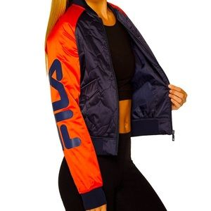 Fila Quilted Bomber Jacket